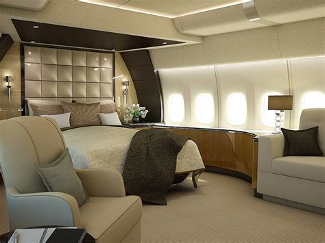 This Plane Is A Luxurious Come True by Airplane Bedroom Interior Design Ideas
