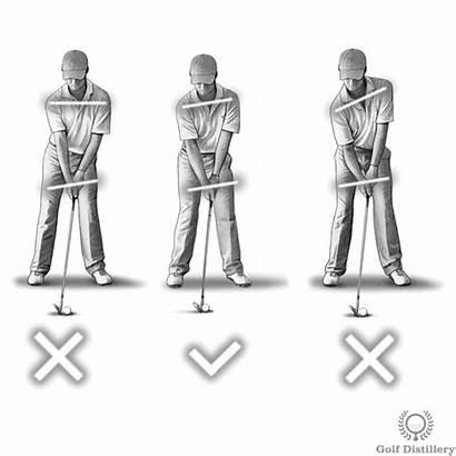 Golf Address Angle Spine Setup Hands Swing