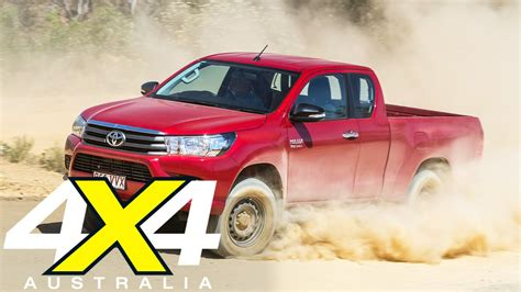 toyota hilux extra cab road test  australia youtube
