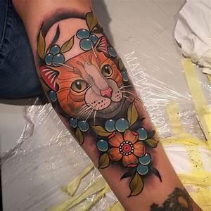 Traditional Cat Tattoo   Tattoo ideas   Pinterest ...