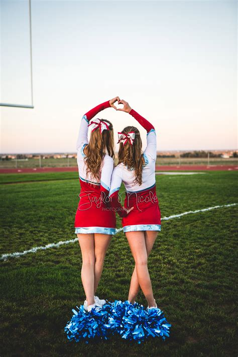 Cheerleading Cheer Senior Portraits Friend Pictures