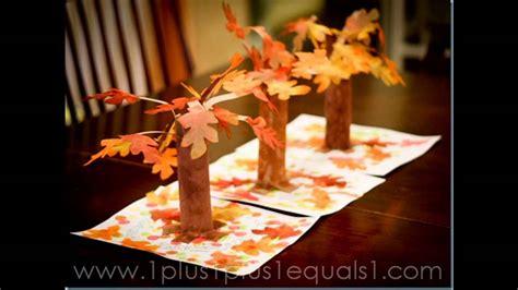 easy diy fall craft ideas  preschoolers youtube