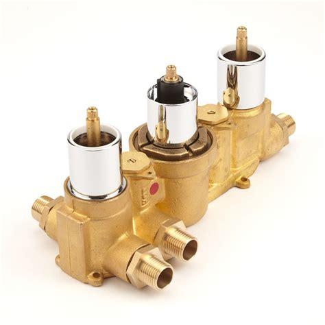3 Outlet Shower Valve - kia jule concealed thermostatic shower faucet valve