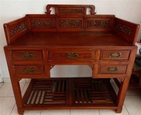 bureau ancien dessus cuir bureau bois ancien clasf