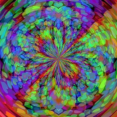 Psychedelic Background Trippy Wallpapers Desktop Gifs Definition