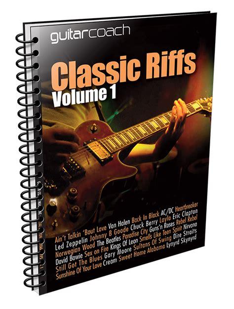 Free Riffs Tab.01 : Guitar Coach Magazine