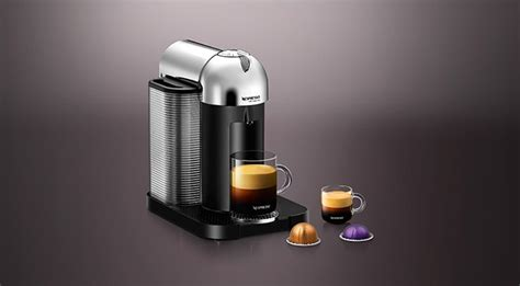 capsule nespresso vertuo vertuo chrome vertuo coffee machine nespresso usa