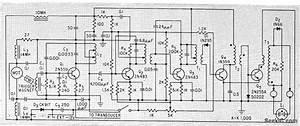 Portable Fish Finder - Measuring And Test Circuit - Circuit Diagram
