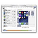Itunes Screen Iphone Zoomed Icons Arrange Icon