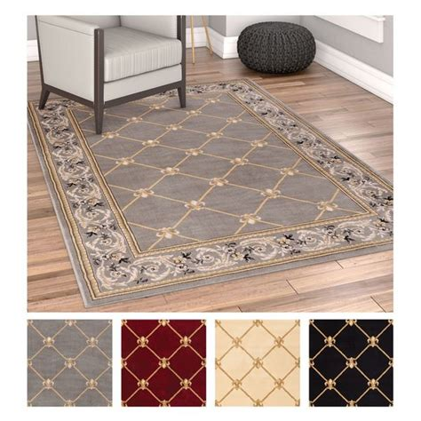 Mansion Rugs by Shop Well Woven Agra Royal Trellis Mansion Area Rug 11