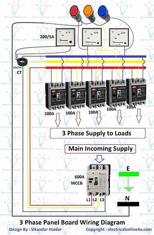 mcb board wiring diagram  25048getacdes
