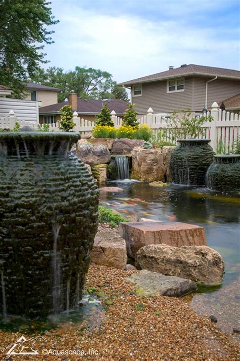 aquascape inc aquascape inc backyard entertaining this suburban