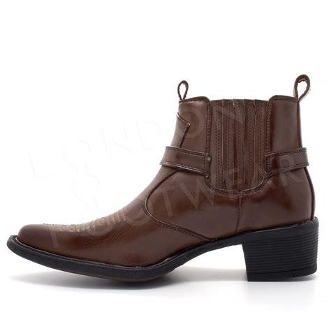 footwears adorable western ankle boots  women  men