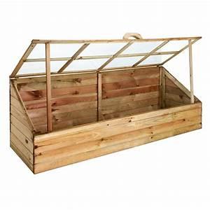 Mini Serre Jardin : serre chassis quadruple en bois fsc ~ Premium-room.com Idées de Décoration