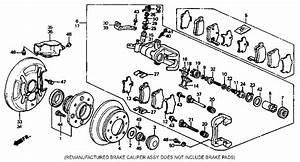 Honda Accord Caliper Assembly Left Rear Rmd Nissin Wiring Diagram