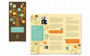 template for a brochure in microsoft word - business services tri fold brochure template word