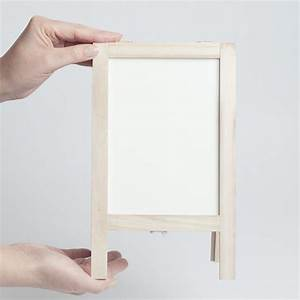 Small Reversible Chalkboard/Whiteboard Easel - Mini