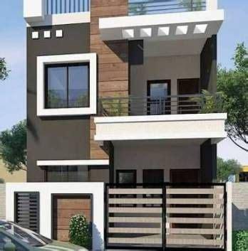 duplex house exterior design  india besthomish
