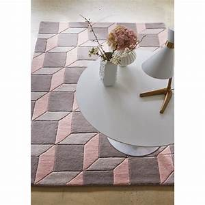 salon rose gris chaioscom With tapis gris et rose