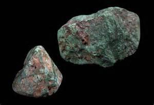 Copper Rocks and Minerals