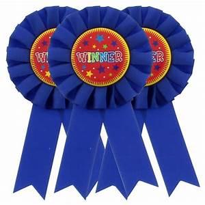 Winner Award Rosette  U2013 Pack Of 3