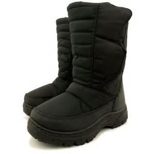 womens ski boots sale uk womens black winter moon ski boots from buy uk
