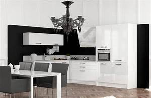 cuisine schmidt 25 photos With cuisine moderne noir et blanc