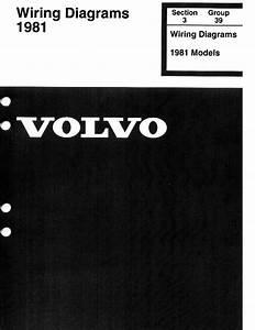 1981 Volvo 240  242  244  245  Wiring Diagrams En