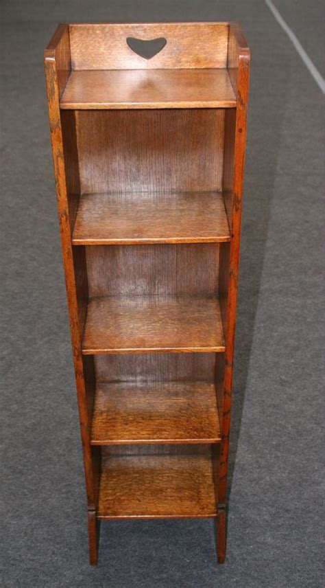Arts And Crafts Bookcase by Liberty Arts And Crafts Oak Caxton Bookcase Antiques Atlas