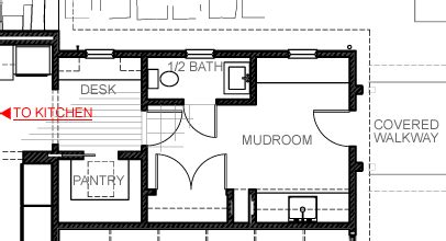 Mudroom Floor Plans by Designed As The Primary Entry To The Home The Mudroom