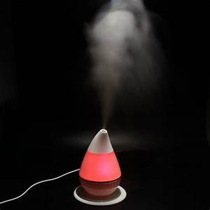 Us Usb Mist Ultrasonic Humidifier Water Drop Shape
