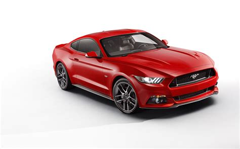 2015 Red Ford Mustang  Car Autos Gallery