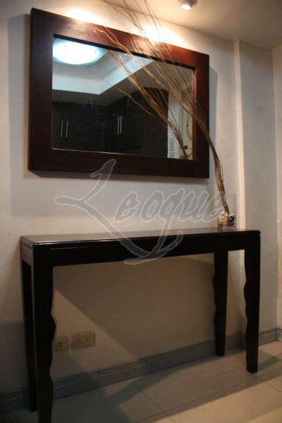 body framed mirror mahogany wood    feet