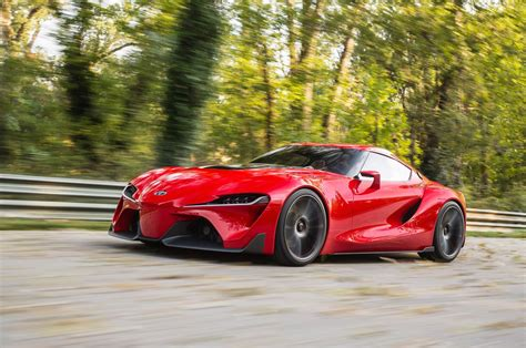 Toyota Ft 1 Concept Car Gives Us Supra Dreams At 2018 Naias
