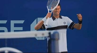 Tennis Djokovic Novak Sports Animated Funny Twice