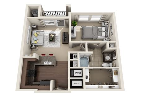 bedroom apartments  rent  broomfield