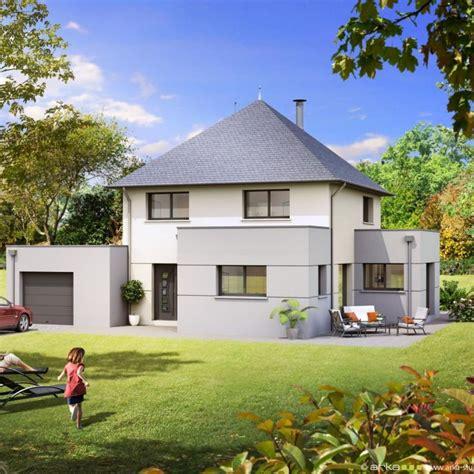 plan de maison contemporaine 4 chambres plan maison contemporaine 4 chambres avec garage olympe