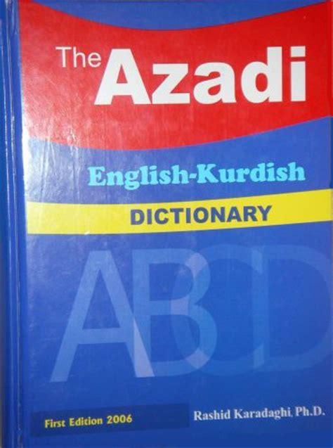 bid dictionary kurdish dictionaries language