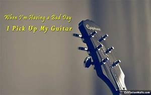 Pick Up Guitar Motivational Wallpaper for Desktop ...