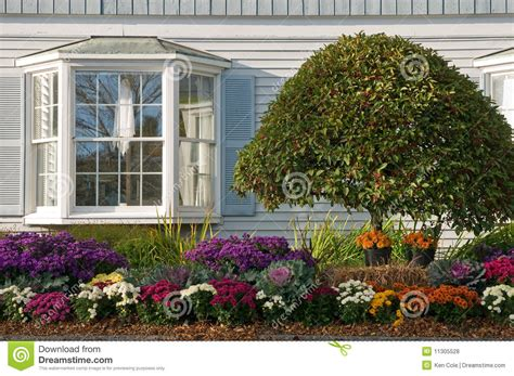 landscaping  bay window royalty  stock