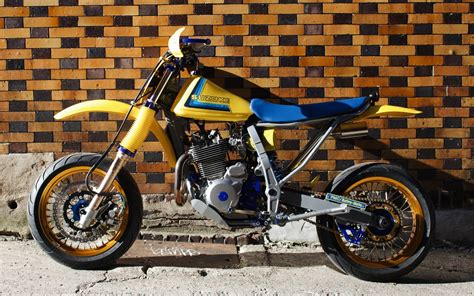 Suzuki Dr650 by Suzuki Dr650 Retro Moto By Parr Motorcycles Bikebound