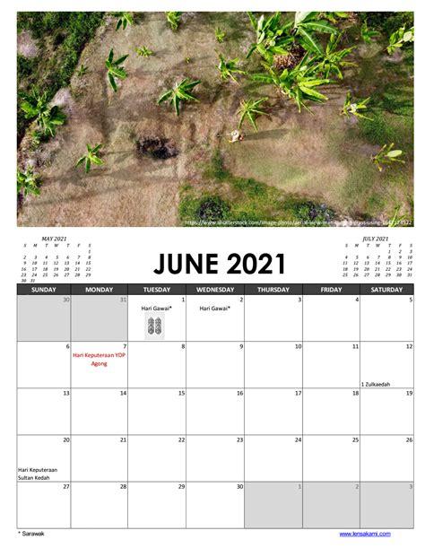 printable calendar  malaysia lensakami