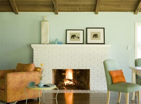 Paint Colors Living Room Brick Fireplace by Living Room Paint Color Ideas Simple Home Decoration
