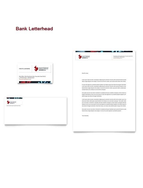 (first name and last name) our client, ms (first name and last name), holds an account at our institution with a current balance of _ (specify currency). 13 Free Bank Letterhead - Printable Letterhead