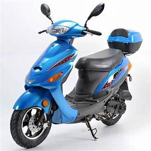 50cc Boom Moped Scooter Bd50qt
