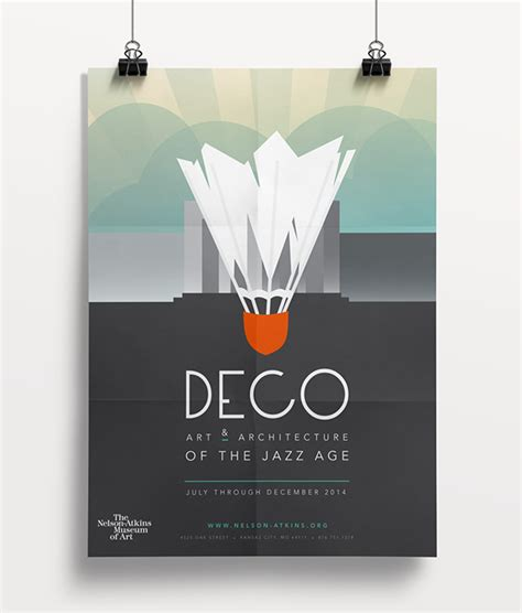 deco exhibition poster and booklet on behance