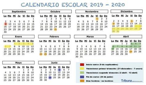 borrador de calendario escolar de castilla