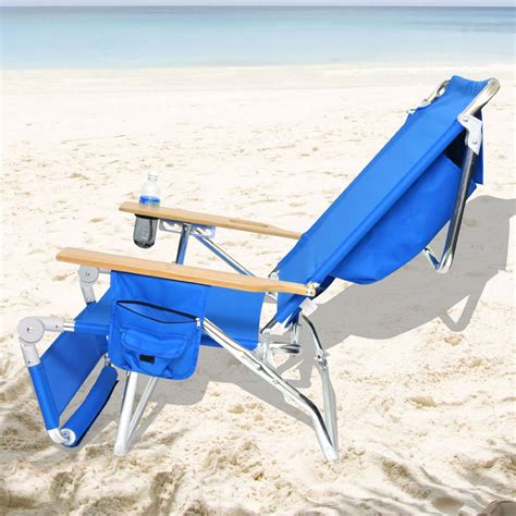 Beach Chairs With Footrest Sadgururockscom