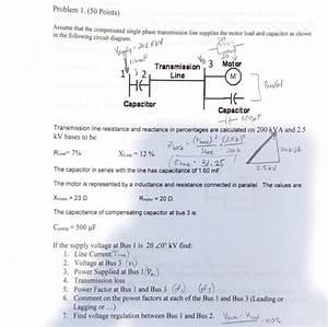 Single Phase Capacitor Motor Wiring Diagram Transmission