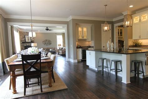 big kitchen huge dining table family formal dining